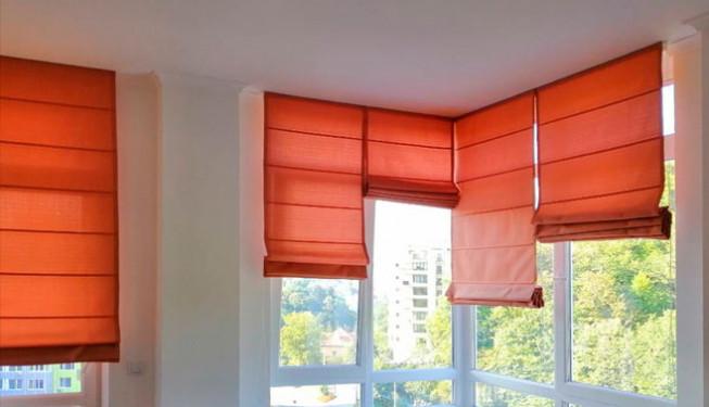Як вибрати колір римської штори