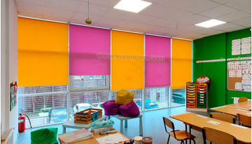 Як вибрати колір рулонної штори