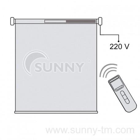 Электропривод для рулонных штор Sunny E35-10/17