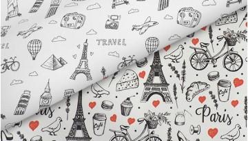 Встречайте ткани Voyage и  France!