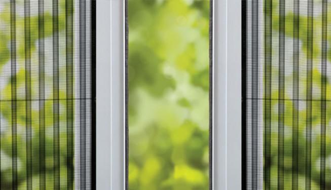 Встречайте новые системы антимоскитных сеток-плиссе!