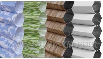 Грандиозное расширение коллекции тканей для штор плиссе!