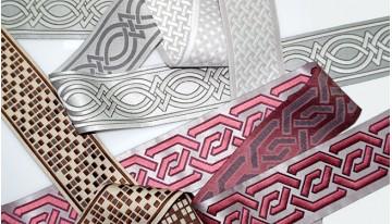 Новые возможности декора римских штор – декоративный кант!