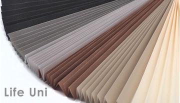Расширение гаммы популярной ткани плиссе Life Uni