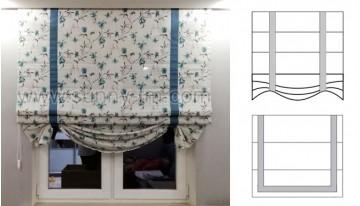 Новые модели римских штор Elegance