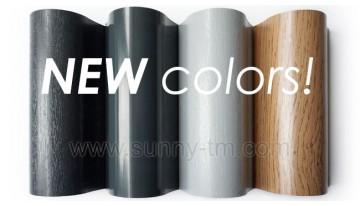 Расширение цветовой гаммы и ламинации створочных систем SUNNY