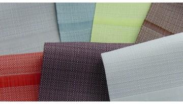 Новые оттенки популярной ткани Elen для римских штор Classic!