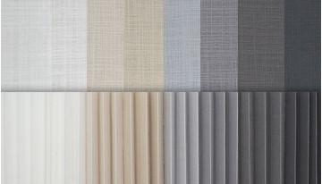 Solea - тканини компаньйони для рулонних штор і плісе