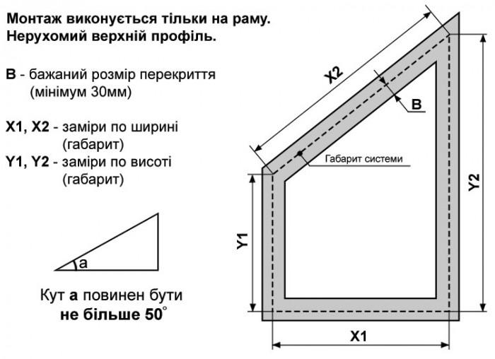 Замір системи АО44 на раму - img