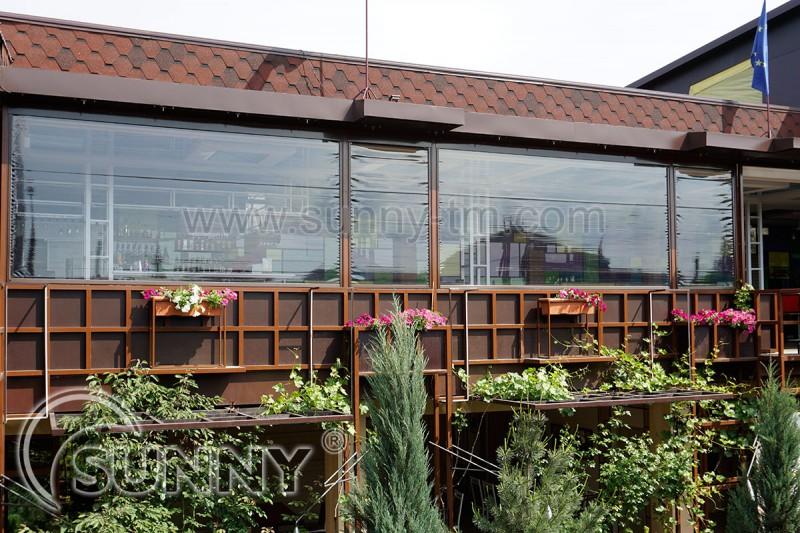 ZIP-системи з матеріалом Cristalplus, кафе Nairi, Запоріжжя