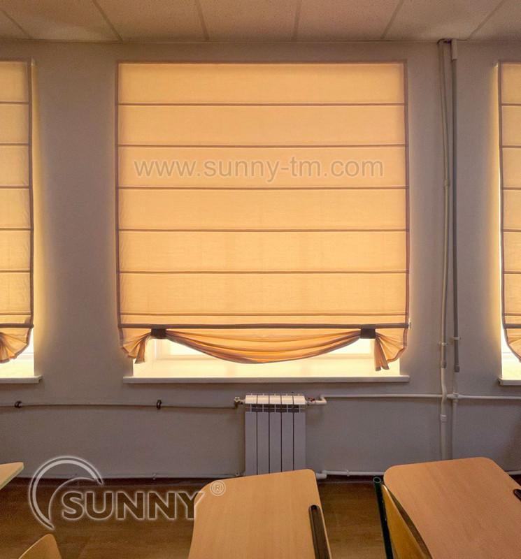 римская штора Classic, ткань Elen