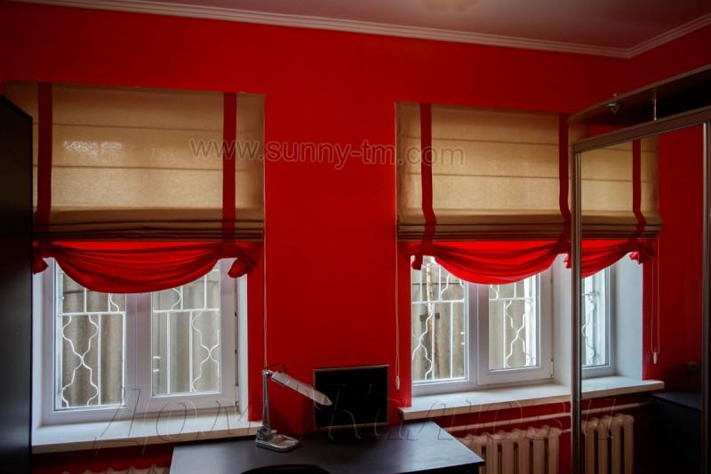 Римская штора Elegance модель № 10