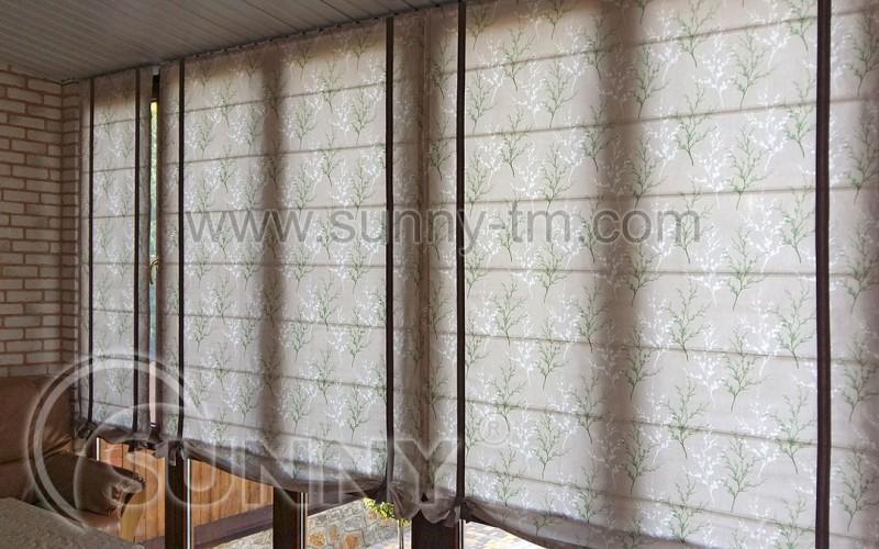 Римская штора Elegance индивидуальный пошив
