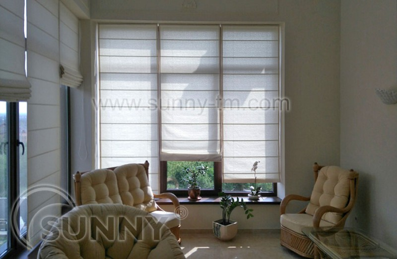 Римская штора Сlassic с тканью Elen