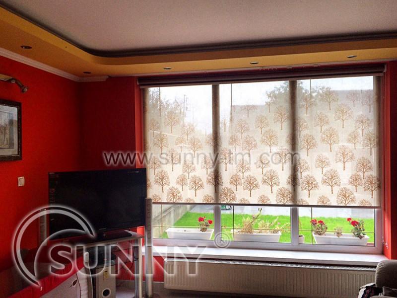 Рулонные шторы с тканью Sherwood