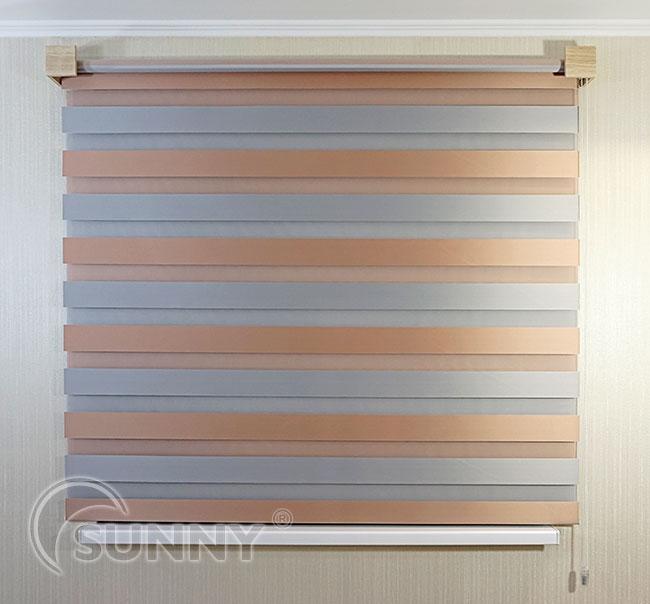 Как крепить шторы день ночь