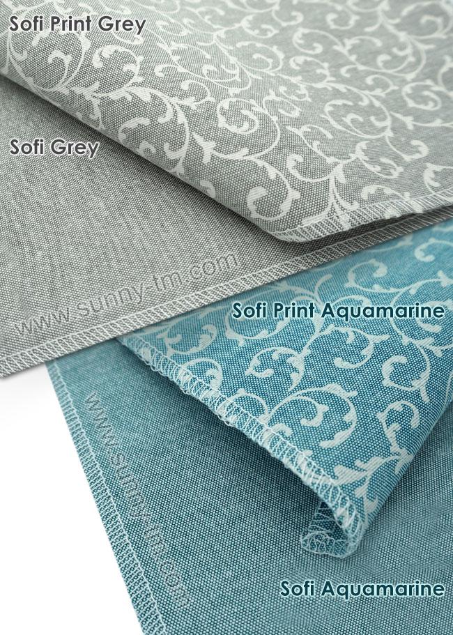 Новые оттенки популярных тканей для римских штор Elegance!