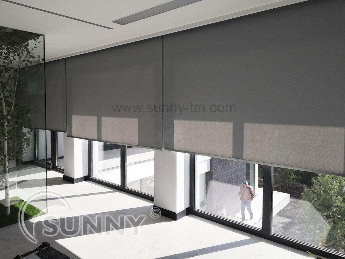 Стильные рулонные шторы